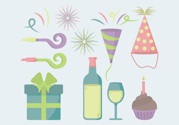 Vector Party Essentials - Free vector #341549