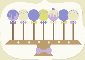 Free Cake Pop Vector - Free vector #341659