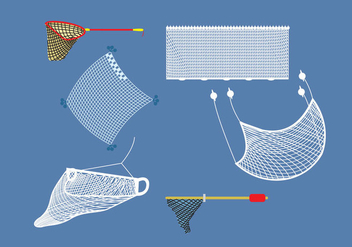 Fishing Net - vector gratuit #341759