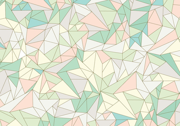 Pastel Abstract Gemstone Pattern - vector gratuit #341999
