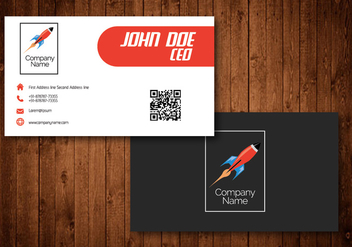 Creative Visiting cards for shipping and courier companies - vector #342329 gratis