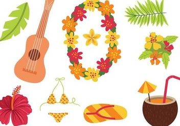 Free Hawaii Vectors - vector #342369 gratis