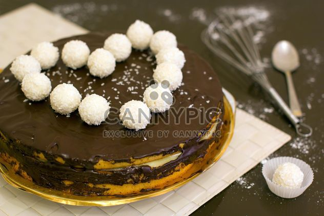 Homemade cake for Valentine's Day - бесплатный image #342869