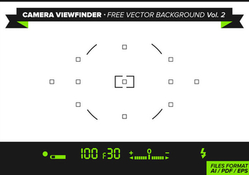 Camera Viewfinder Free Vector Background Vol. 2 - бесплатный vector #342939