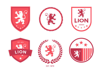 Lion Rampant Vector - Free vector #343009