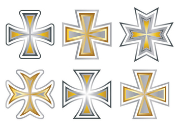 Maltese Cross Vector - бесплатный vector #343319