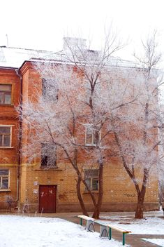 Frosty morning in Podolsk - image gratuit #343619