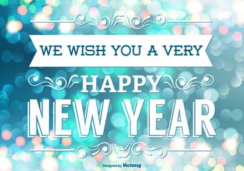 Happy New Year Illustration - Kostenloses vector #343679