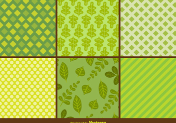 Ecological Patterns - vector gratuit #344289