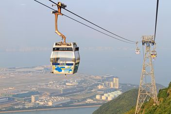Cable car in HongKong - бесплатный image #344439
