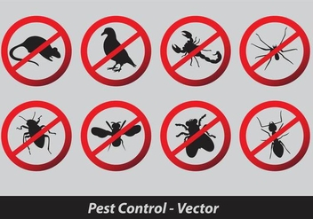 Pest Control Vector - Free vector #344769