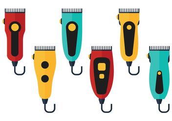 Hair Clippers - vector gratuit #344859