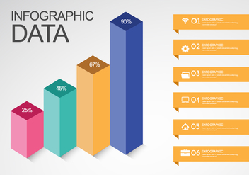 Inforgraphic Data - vector #344949 gratis
