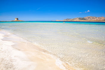 La Pelosa beach, north Sardinia (Italy) - бесплатный image #344979