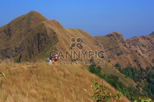 Two women in mountains, Thailand - Free image #345059