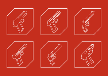 Vector Set of Glocks - vector #345429 gratis