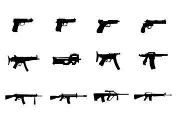 Vector Set of Glocks - vector #345539 gratis