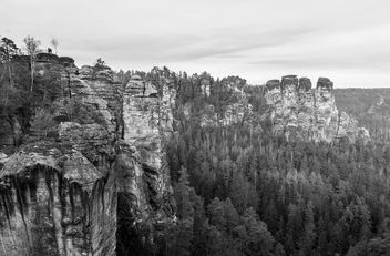 Elbe Sandstone Mountains II - Free image #345819