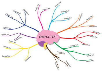 Mind Map Vector - Free vector #345989