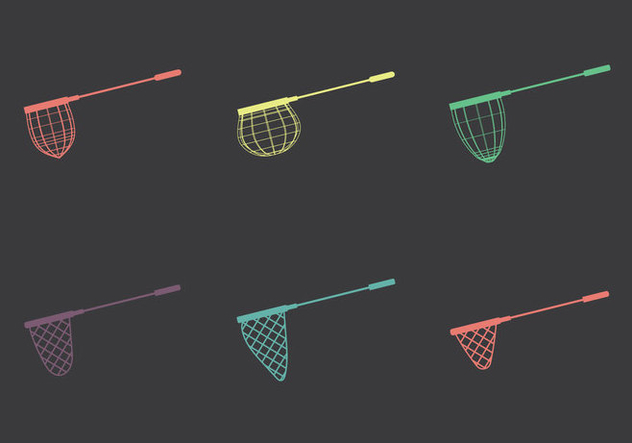 Free Fishing Net Vector illustrations - Free vector #346349