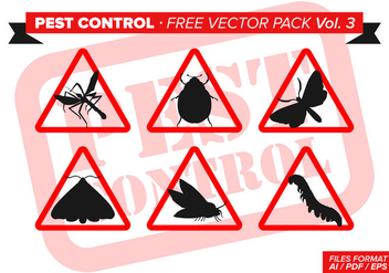 Pest Control Free Vector Pack Vol. 3 - Free vector #346409