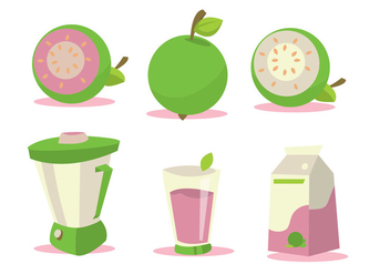 Guava Vector Set - бесплатный vector #346439