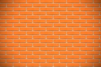 Background of orange brick wall - image #346619 gratis