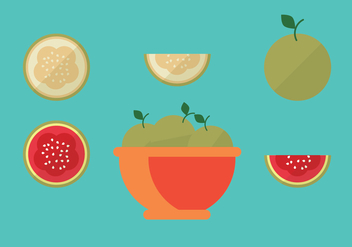 Guava Vector Pack - бесплатный vector #346639