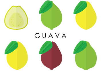 Guava Variants Vectors - бесплатный vector #346719