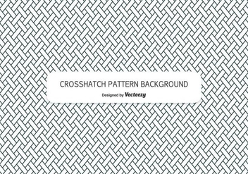 Crosshatch Style Background Pattern - vector gratuit #346799