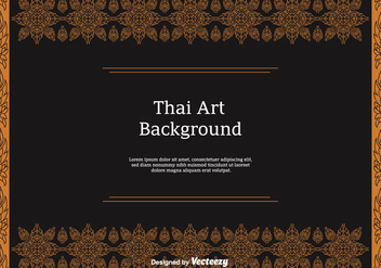 Free Thai Pattern Vector Icons - vector gratuit #346819