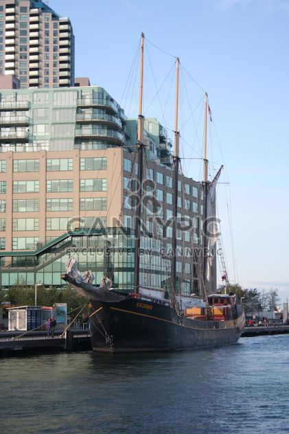 Tall Ship Kajama docked at Toronto Port, Canada - Free image #346979