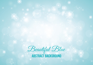 Blue Sparkle Abstract Style Background - Free vector #347089