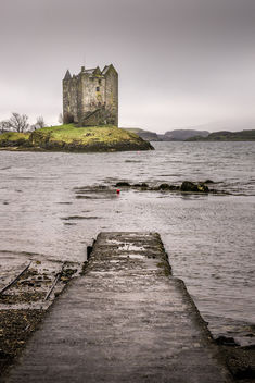 Stalcher castle - Scotland - Travel photography - Kostenloses image #347159