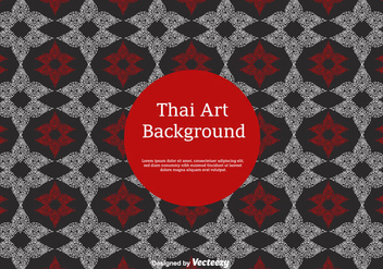Free Thai Pattern Vector Icons - Free vector #347439