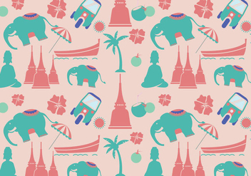 Modern Thai Pattern Vector - бесплатный vector #348209