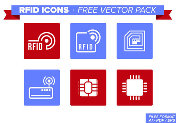 Rfid Icons Free Vector Pack - бесплатный vector #348249