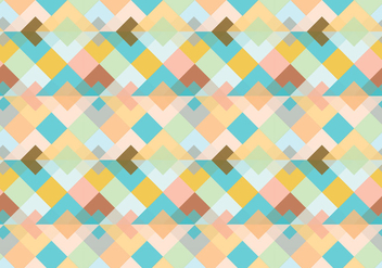Abstract triangle pattern background - vector gratuit #348729