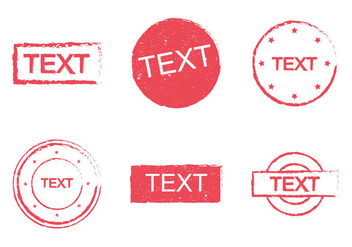 Free Stempel Vector Illustration - Free vector #348749