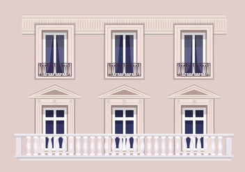 Architecture in Paris - vector gratuit #348779