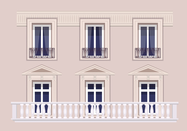 Architecture in Paris - Free vector #348779