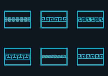 Free Greek Key Vector Illustration - Free vector #348979