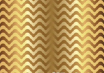 Gold Chevron Pattern - vector gratuit #349189