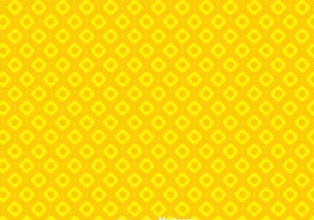 Simple Circle Yellow Background - vector gratuit #349199