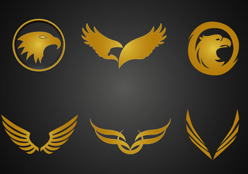 Free Golden Eagle Vector - vector gratuit #349369