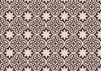 Mauve Moroccan Pattern Background Vector - vector gratuit #349569
