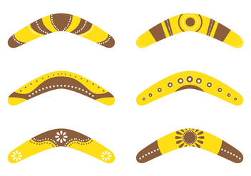 Boomerang Collections - vector gratuit #349859