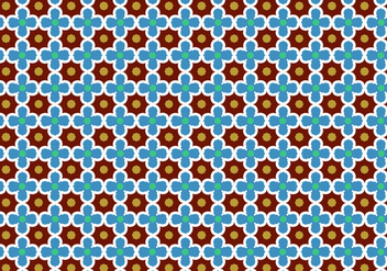 Abstract Mosaic Pattern Vector - Free vector #350009