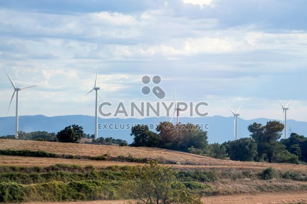 Wind turbine generators - Free image #350259