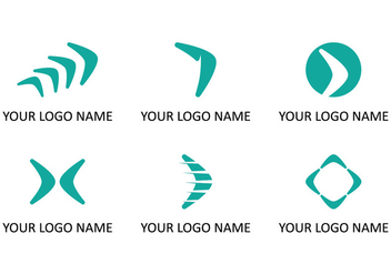 Boomerang Logo Collections - бесплатный vector #350529